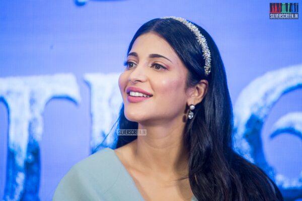 Shruti Haasan At The 'Frozen 2' Press Meet