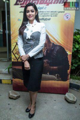 Chaya Singh At The 'Action' Press Meet