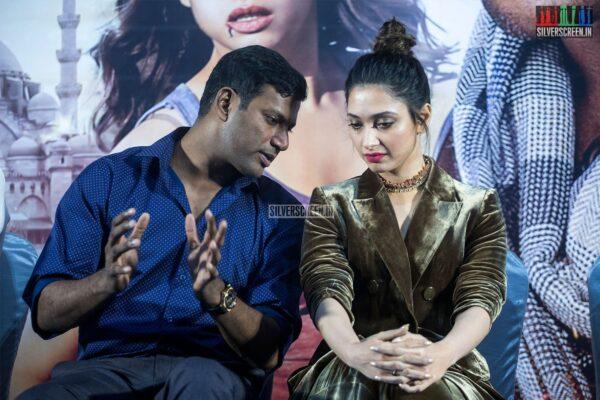 Tamannaah, Vishal At The 'Action' Press Meet