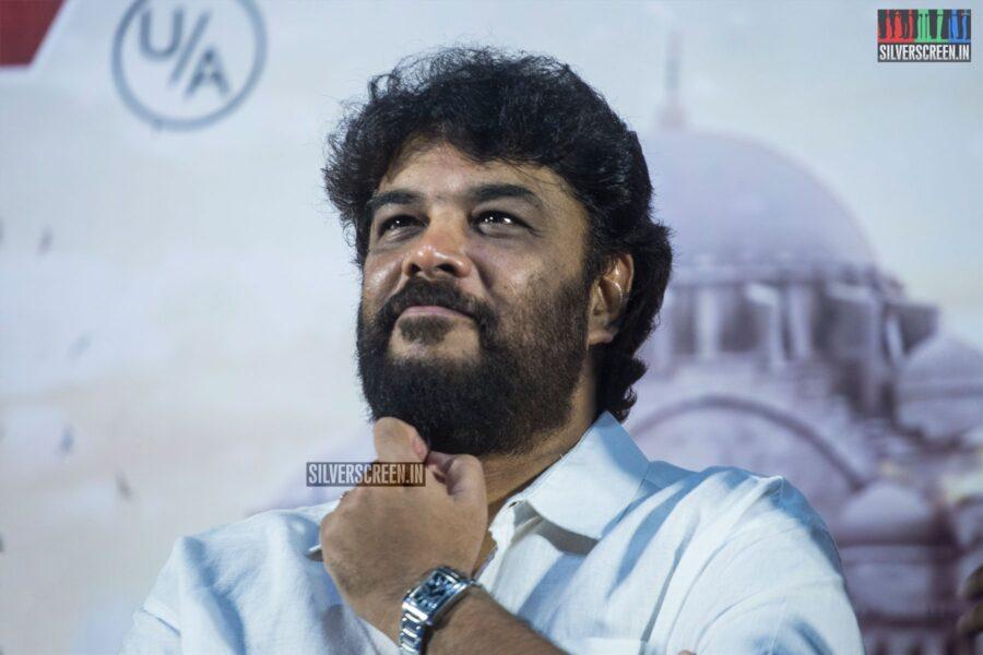 Sundar C At The 'Action' Press Meet