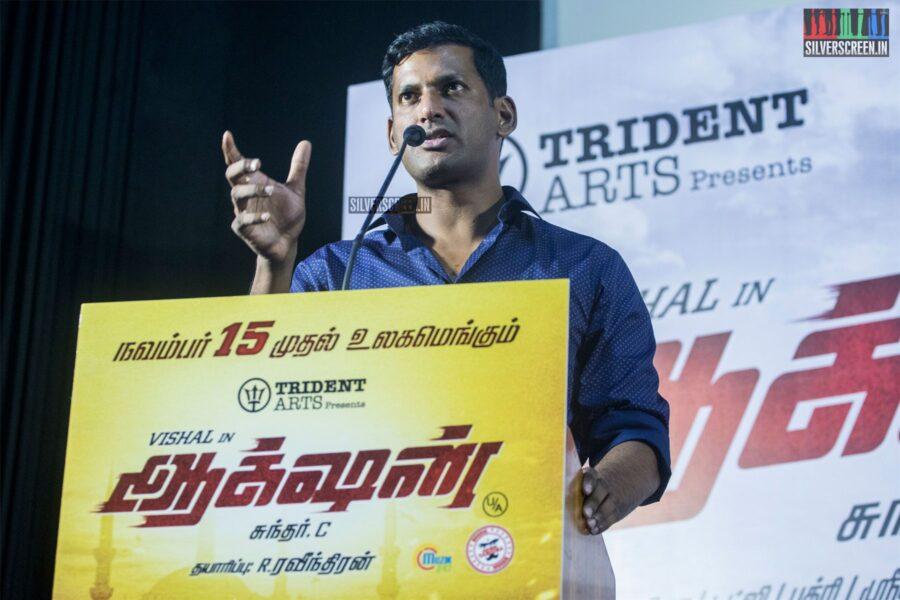 Vishal At The 'Action' Press Meet