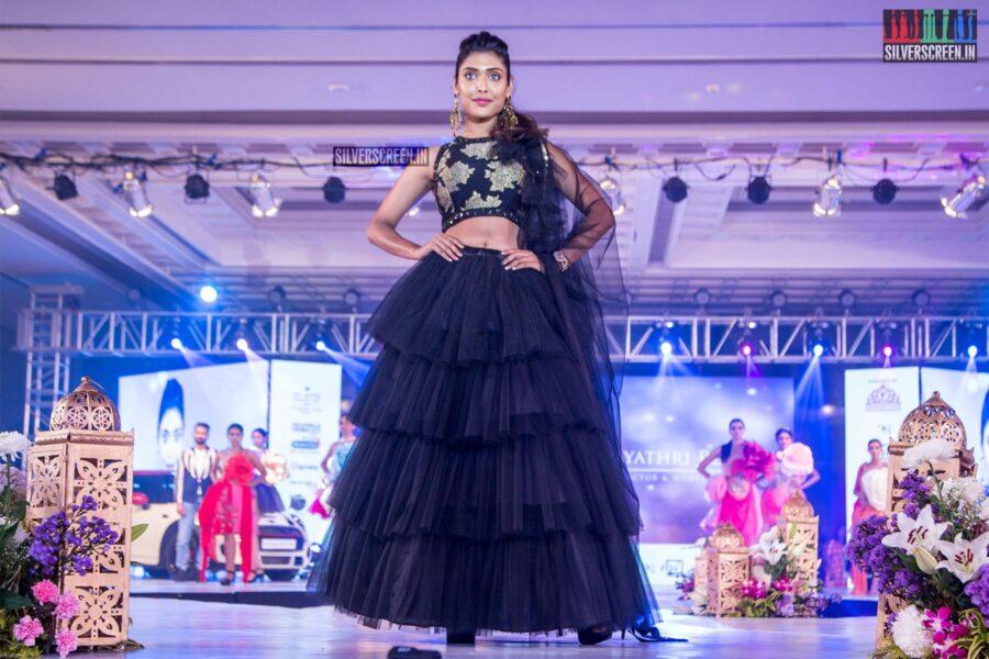 Gayathri Reddy Walks The Ramp At 'Prawolion Fashion Week'