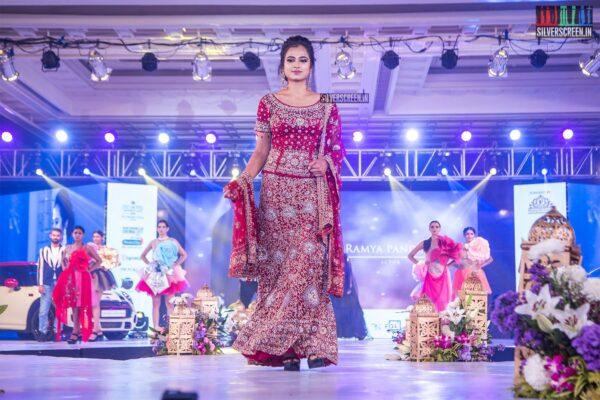 Ramya Pandian Walks The Ramp At 'Prawolion Fashion Week'