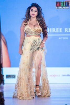 Sri Reddy Walks The Ramp At 'Prawolion Fashion Week'