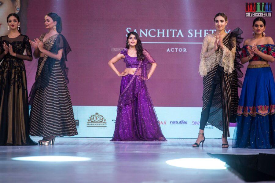 Sanchita Shetty Walks The Ramp At 'Prawolion Fashion Week'
