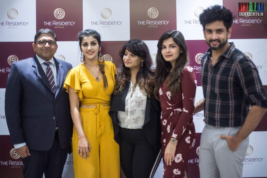 Yaashika Aanand, Mehndi Jashnani At A Cake Mixing Event In Chennai