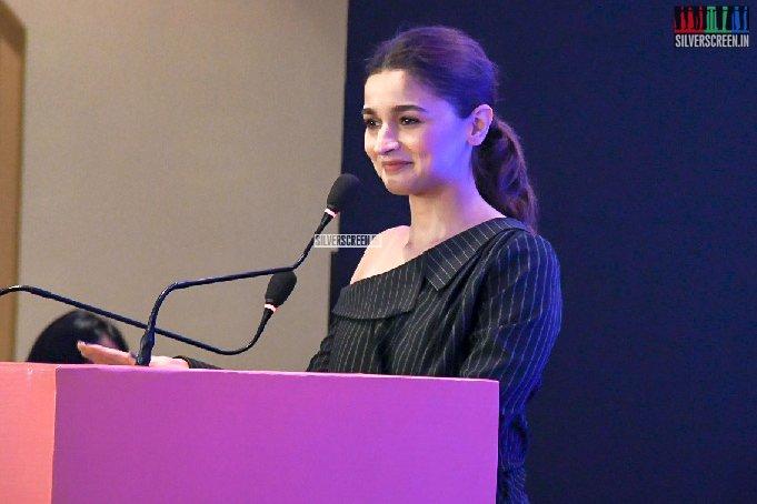 Alia Bhatt At Shaheen Bhatt's 'I've Never Been (un)Happier' Book Launch