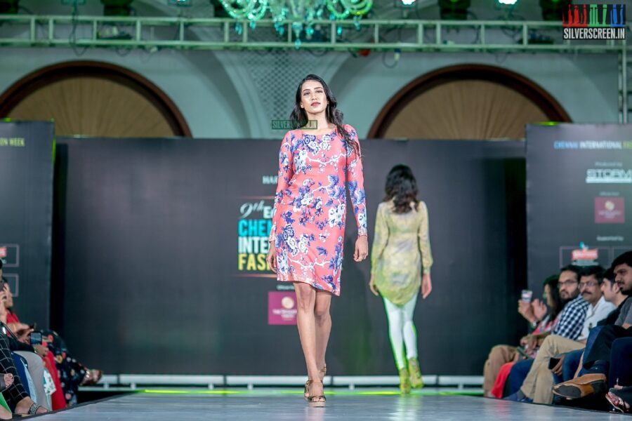 Ashwini Kumar Walk The Ramp At The 9th Edition of Chennai International Fashion Week 2019 - Day 1
