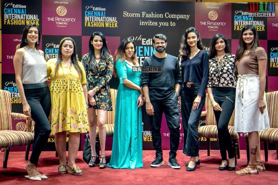 Chennai International Fashion Week 2019 Press Meet Photos