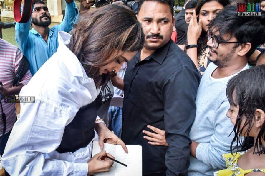 Deepika Padukone Promotes 'Chhapaak'