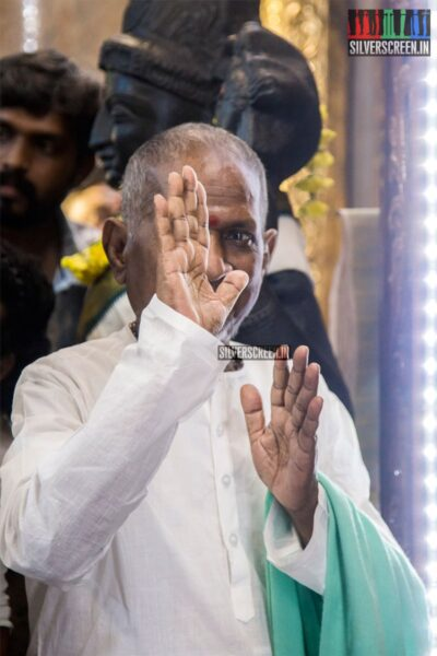 Ilaiyaraaja At The 'Thamezharasan' Audio Launch