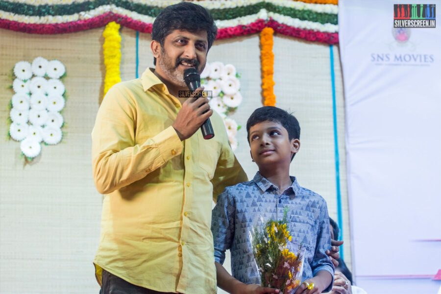Jayam Raja At The 'Thamezharasan' Audio Launch