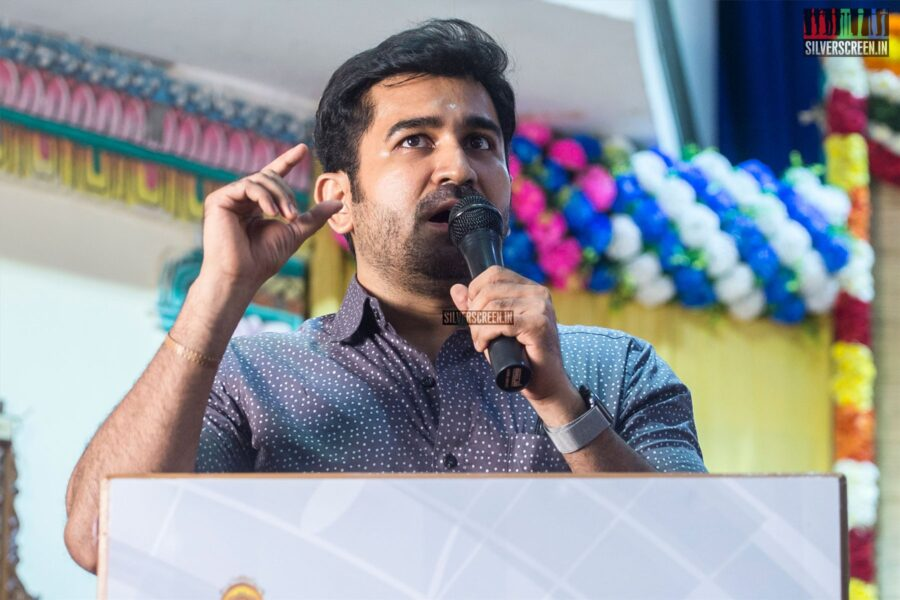 Vijay Antony At The 'Thamezharasan' Audio Launch