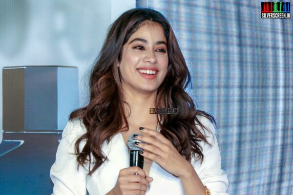 Janhvi Kapoor At The United Colors of Benetton's Perfume Launch