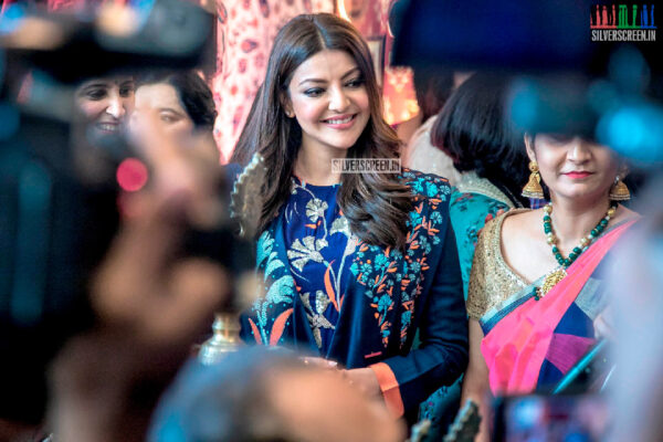 Kajal Aggarwal At The Bridal Story Wedding Exhibition