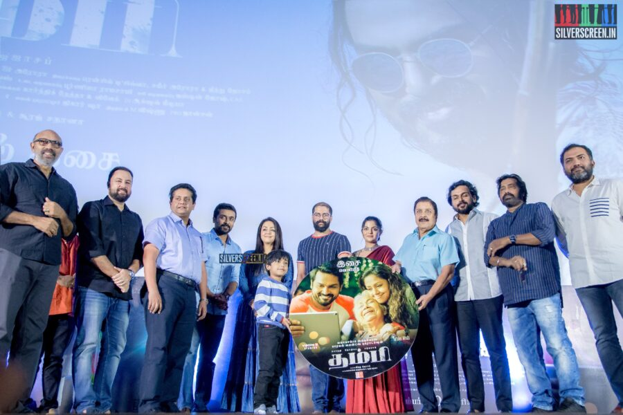 Celebrities At The 'Thambi' Audio Launch