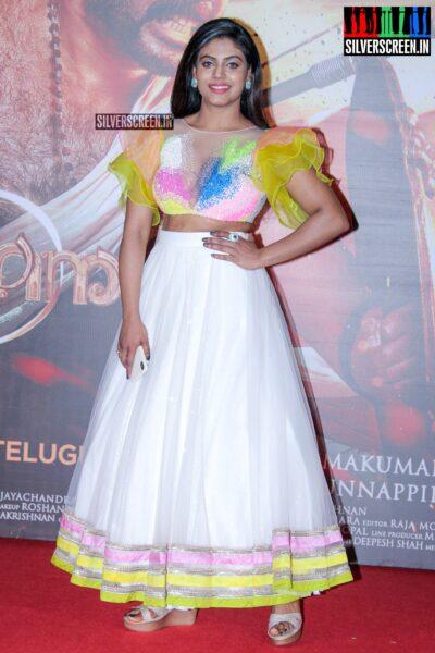 Iniya At The 'Mamangam' Trailer Launch
