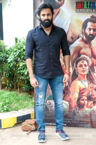 Celebrities  At The 'Mamangam' Press Meet