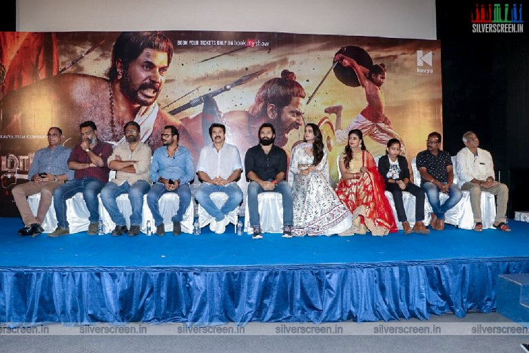 Mammootty, Prachi Tehlan At The 'Mamangam' Press Meet