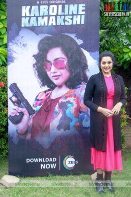 Meena At The 'Karoline Kamakshi' Web Series Press Meet