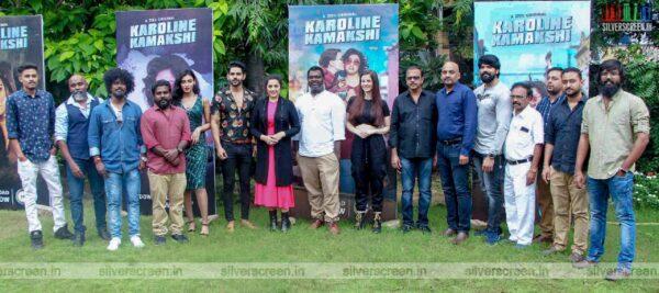 Meena, Giorgia Andriani At The 'Karoline Kamakshi' Web Series Press Meet