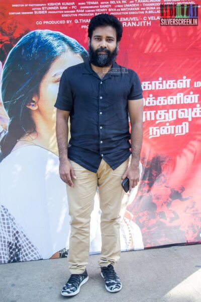 Celebrities At The 'Irandam Ulagaporin Kadaisi Gundu' Thanksgiving Meet