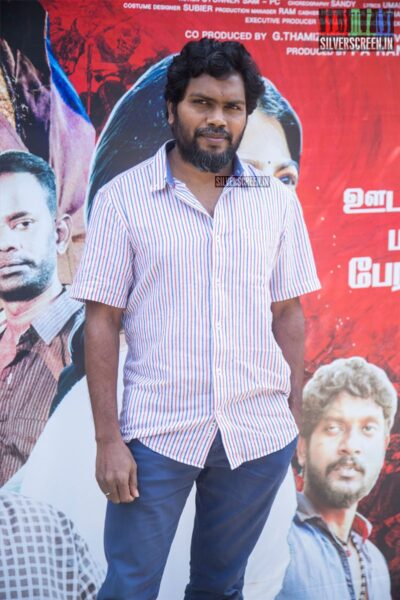 Pa Rannjith At The 'Irandam Ulagaporin Kadaisi Gundu' Thanksgiving Meet