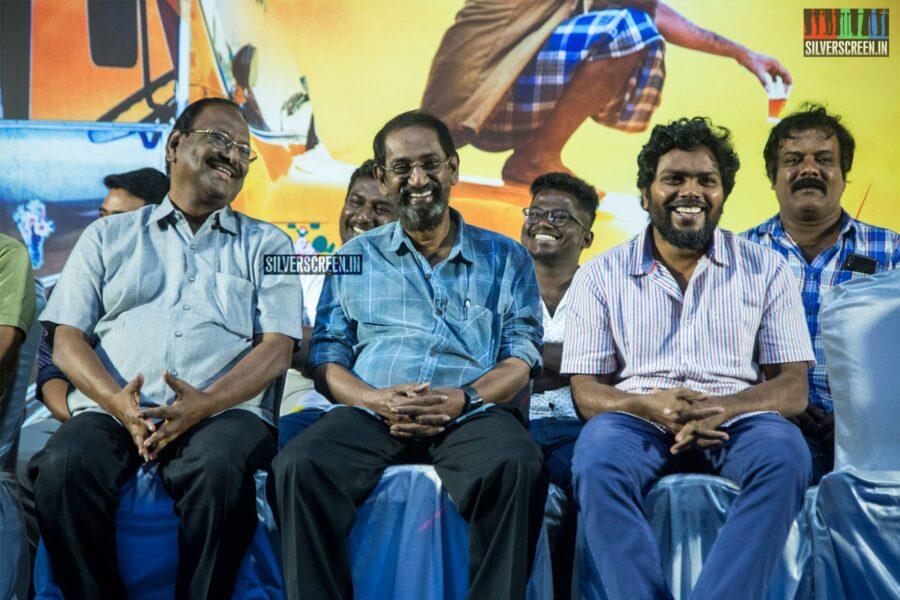 Celebrities At The 'Irandam Ulagaporin Kadaisi Gundu' Thanksgiving Meet