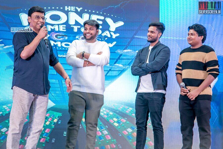 K Bhagyaraj At The 'Hey Money Come Today Go Tomorrow Ya' Movie Launch