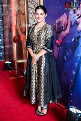 Nivetha Thomas At The 'Darbar' Audio Launch