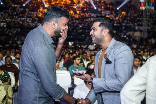 Celebrities At The 'Darbar' Audio Launch