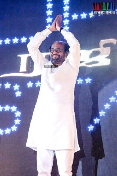 Rajinikanth At The 'Darbar' Audio Launch