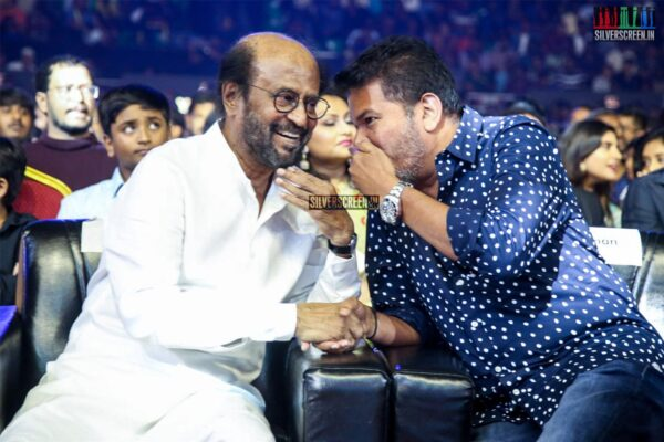 Rajinikanth, Shankar At The 'Darbar' Audio Launch