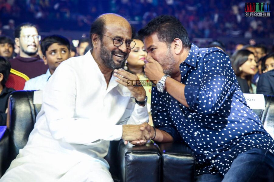 Rajinikanth, Shankar At The 'Darbar' Audio Launch