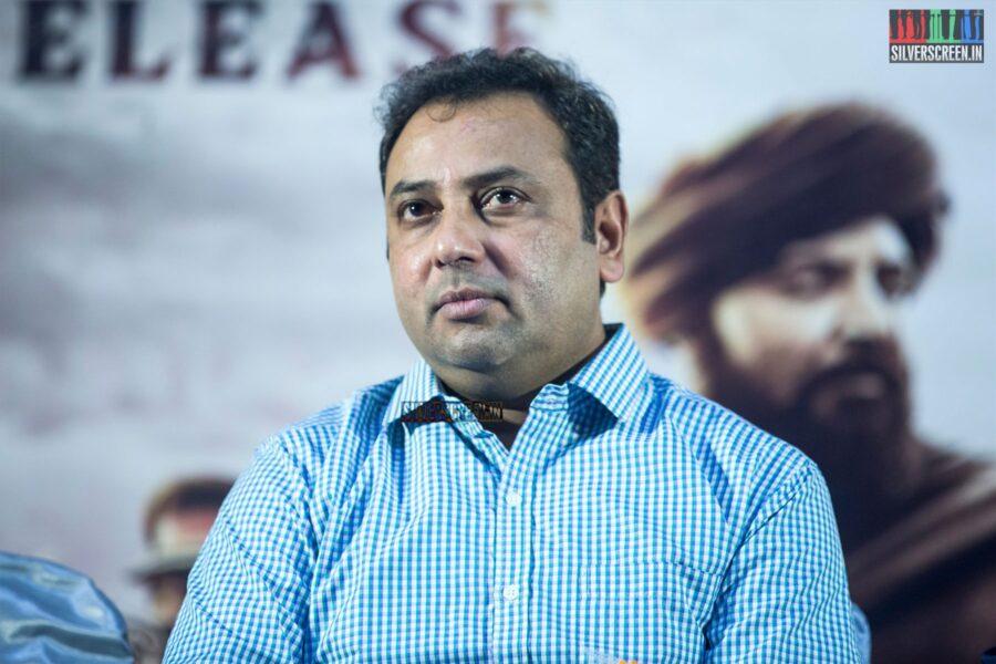 Celebrities At The 'Avane Srimannarayana' Press Meet