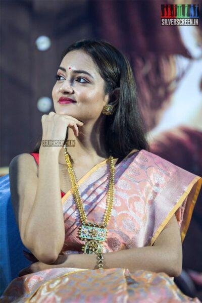 Shanvi Srivastava At The 'Avane Srimannarayana' Press Meet