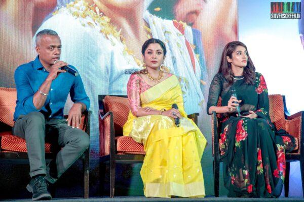 Gautham Menon, Ramya Krishnan At The 'Queen' Press Meet