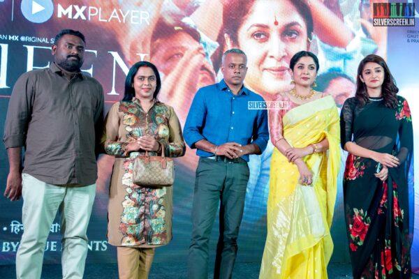 Ramya Krishnan, Gautham Menon, Viji Chandrasekhar At The 'Queen' Press Meet