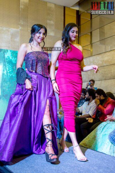 Sakshi Agarwal, Namitha At Naayaab Calendar Launch