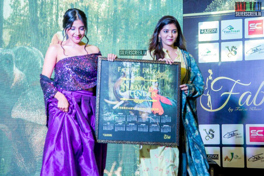 Sakshi Agarwal, Athulya Ravi At Naayaab Calendar Launch