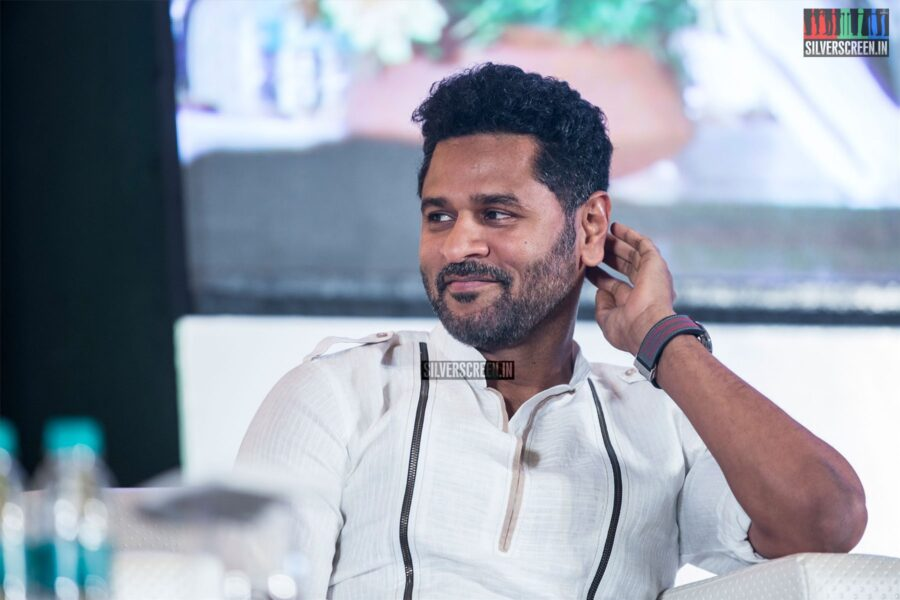 Prabhu Deva At The 'Dabangg 3' Press Meet