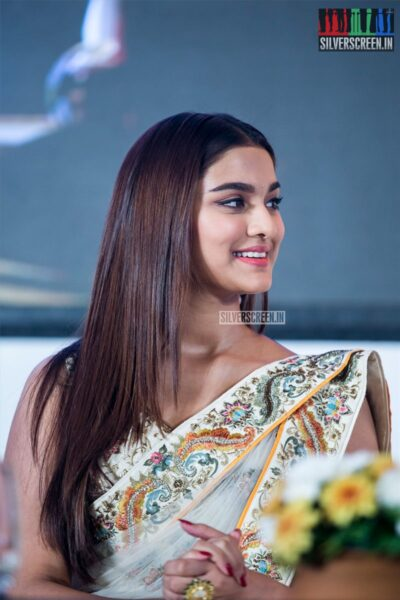 Saiee Manjrekar At The 'Dabangg 3' Press Meet