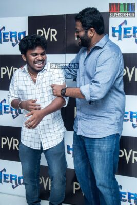 PS Mithran At The 'Hero' Audio And Trailer Launch