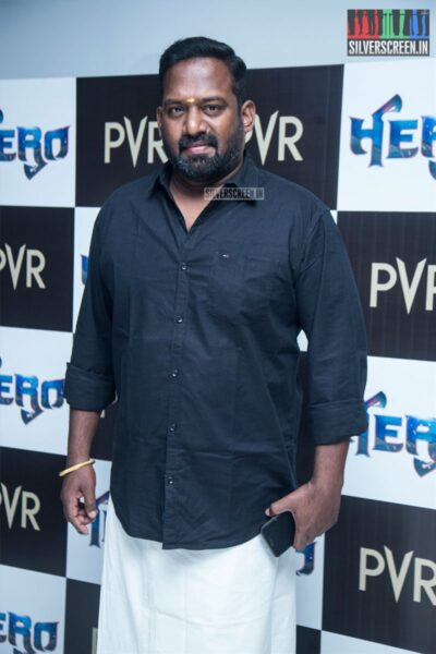 Robo Shankar At The 'Hero' Audio And Trailer Launch