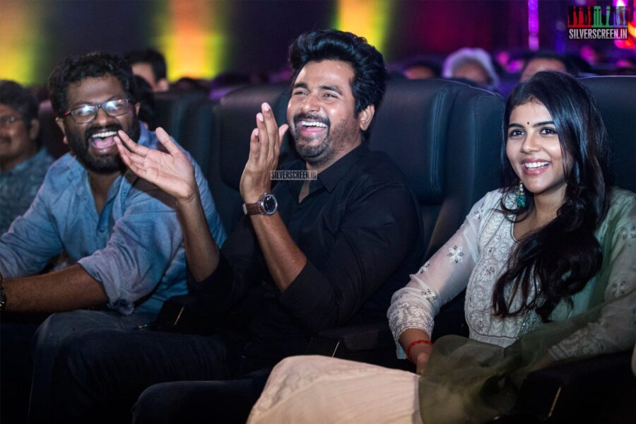 Kalyani Priyadarshan, Sivakarthikeyan At The 'Hero' Audio And Trailer Launch