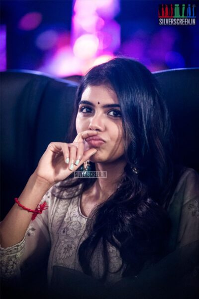 Kalyani Priyadarshan At The 'Hero' Audio And Trailer Launch