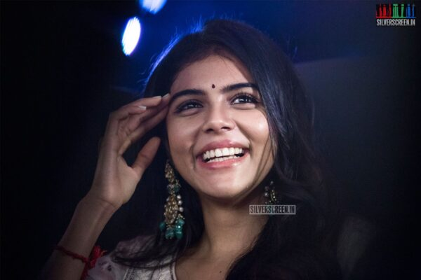Kalyani Priyadarshan At The 'Hero' Audio And Trailer Launch
