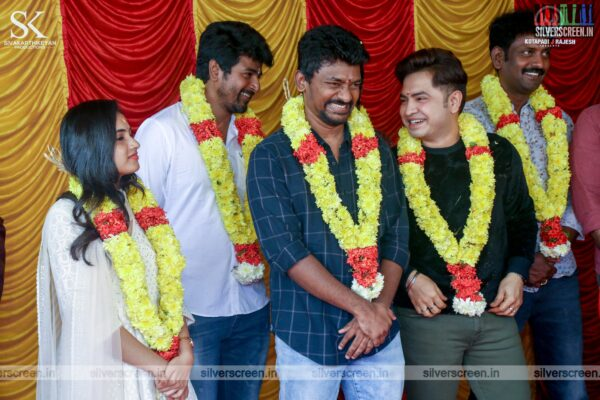 Sivakarthikeyan, Priyanka Arul Mohan, Yogi Babu At The 'Doctor' Movie Launch