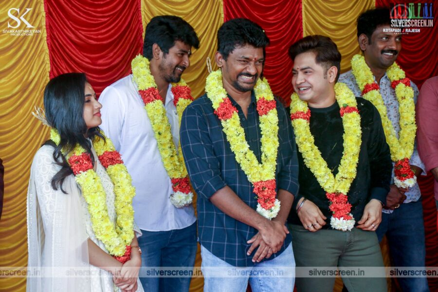 Sivakarthikeyan, Priyanka Arul Mohan, Yogi Babu At The 'Doctor' Movie Launch