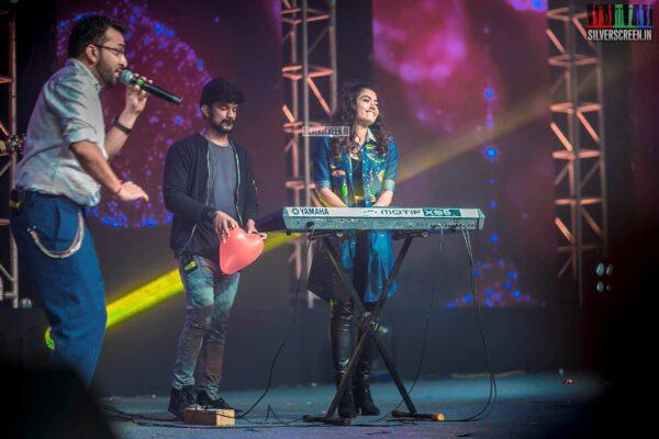 Rashmika Mandana At The 'Dear Comrade' Music Festival